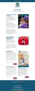 BANANAS Newsletter Email Design