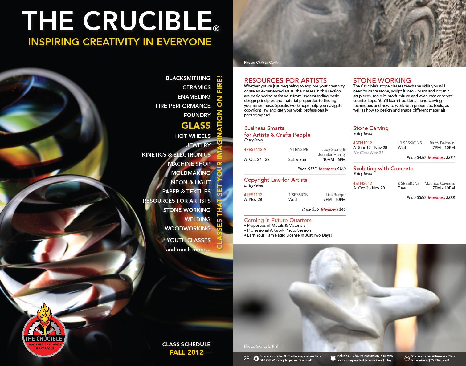 Crucible Catalog